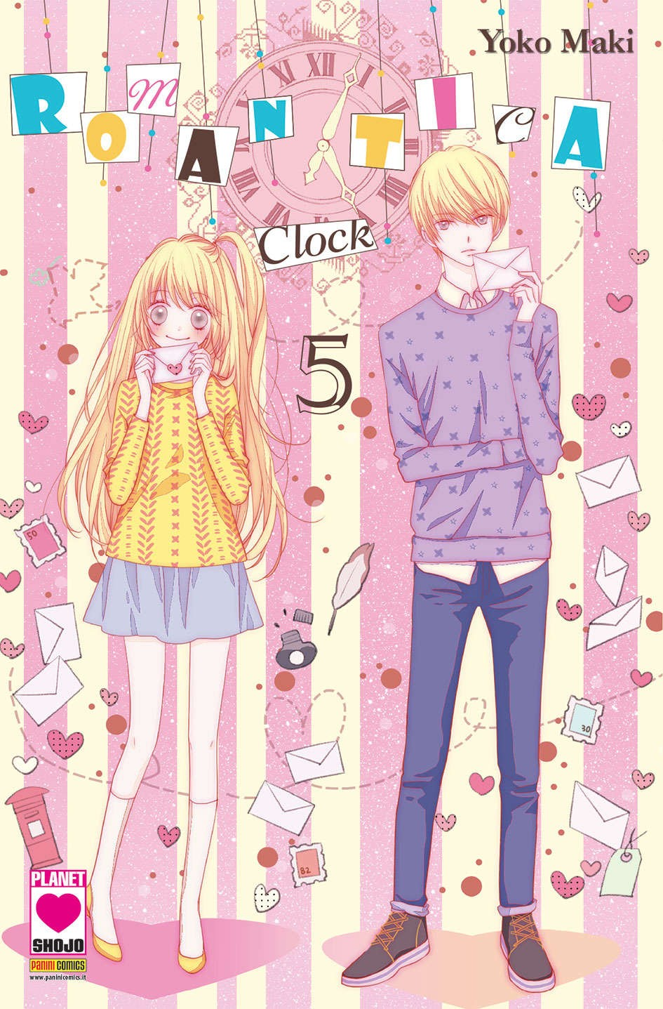 Romantica Clock - N° 5 - Romantica Clock - Yume Planet Manga