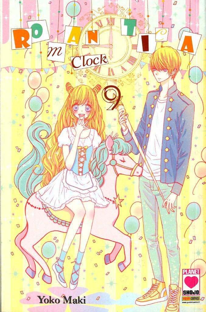 Romantica Clock - N° 9 - Romantica Clock - Yume Planet Manga