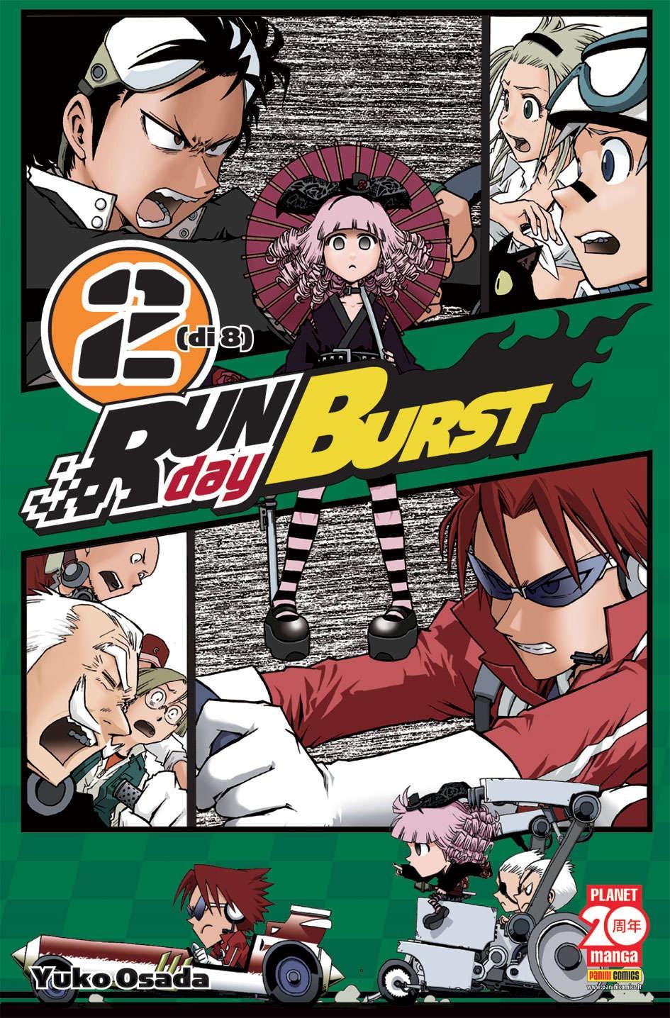 Run Day Burst - N° 2 - Run Day Burst (M8) - Planet Manga