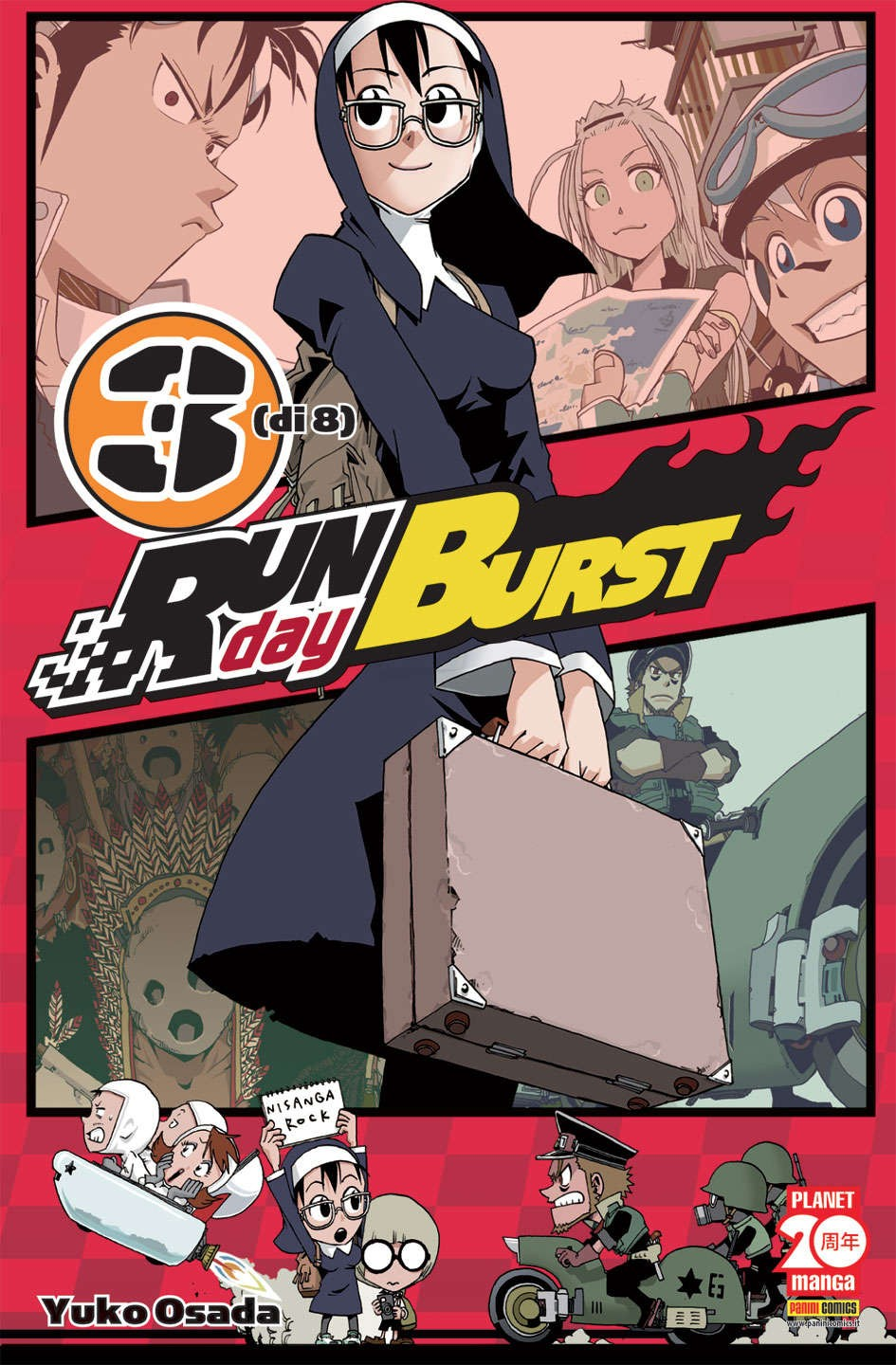 Run Day Burst - N° 3 - Run Day Burst - Planet Manga