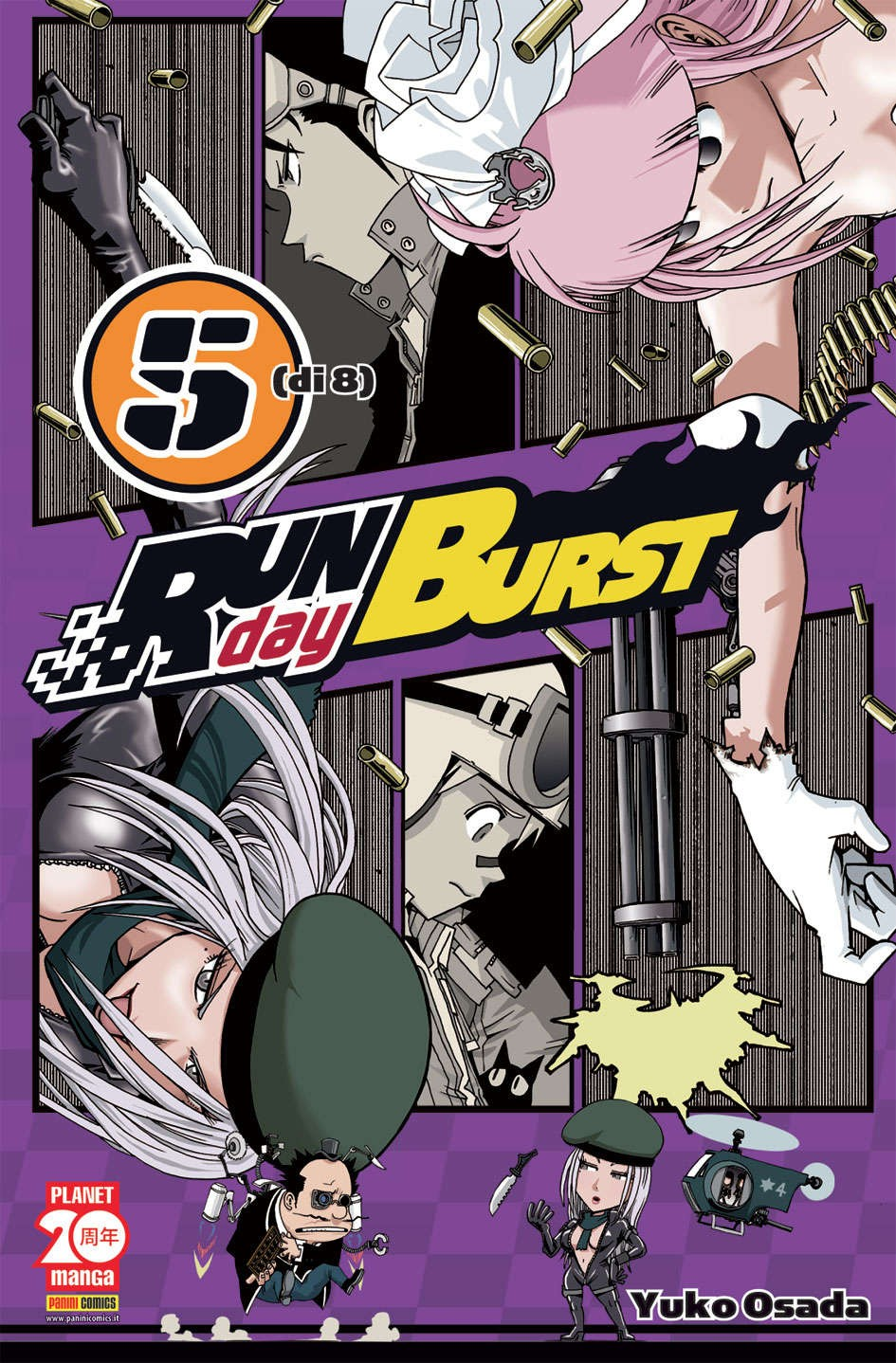 Run Day Burst - N° 5 - Run Day Burst - Planet Manga