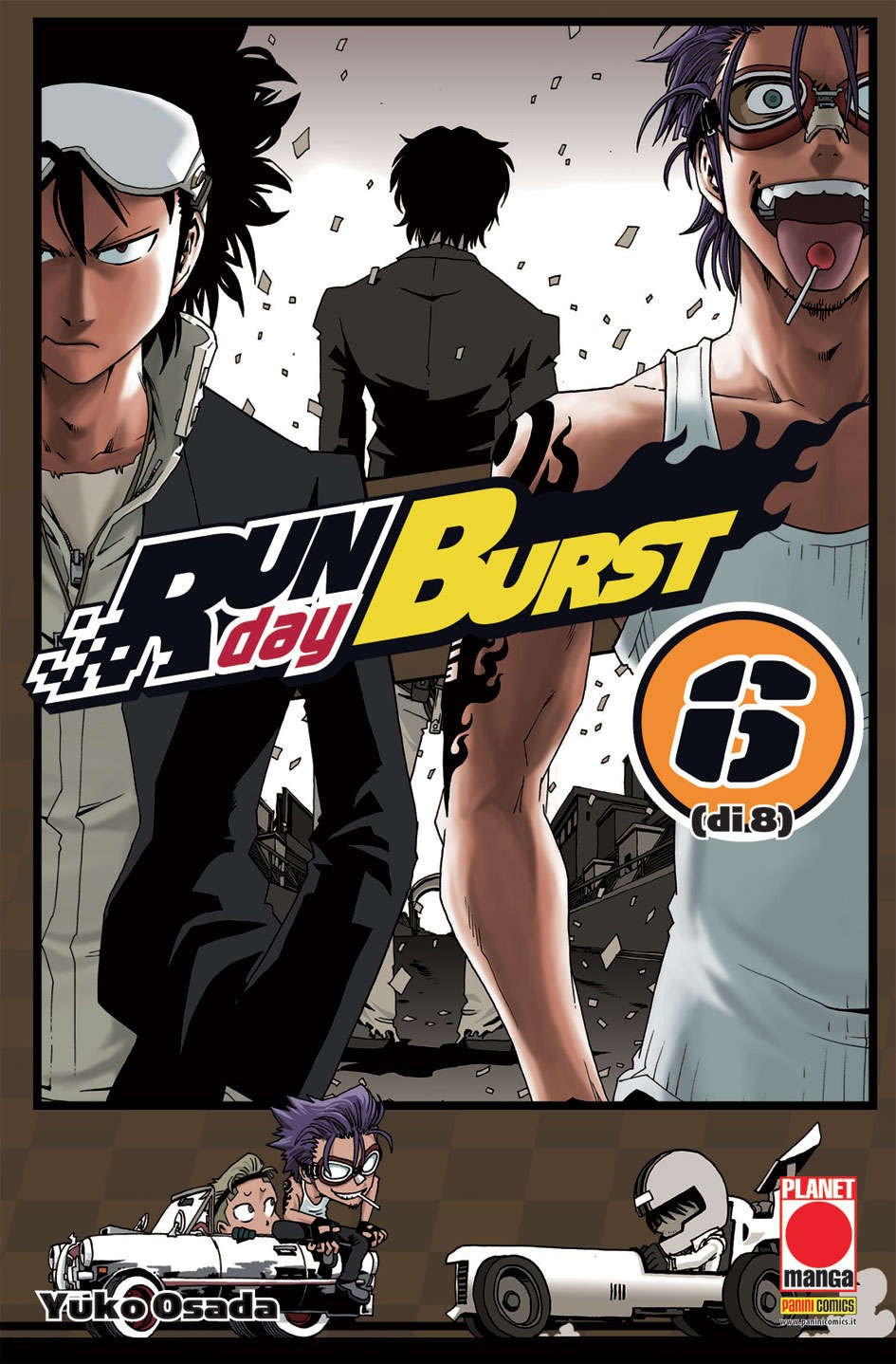 Run Day Burst - N° 6 - Run Day Burst - Planet Manga