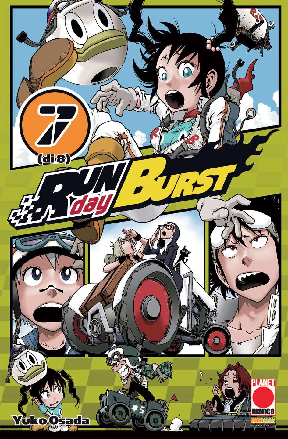 Run Day Burst - N° 7 - Run Day Burst - Planet Manga