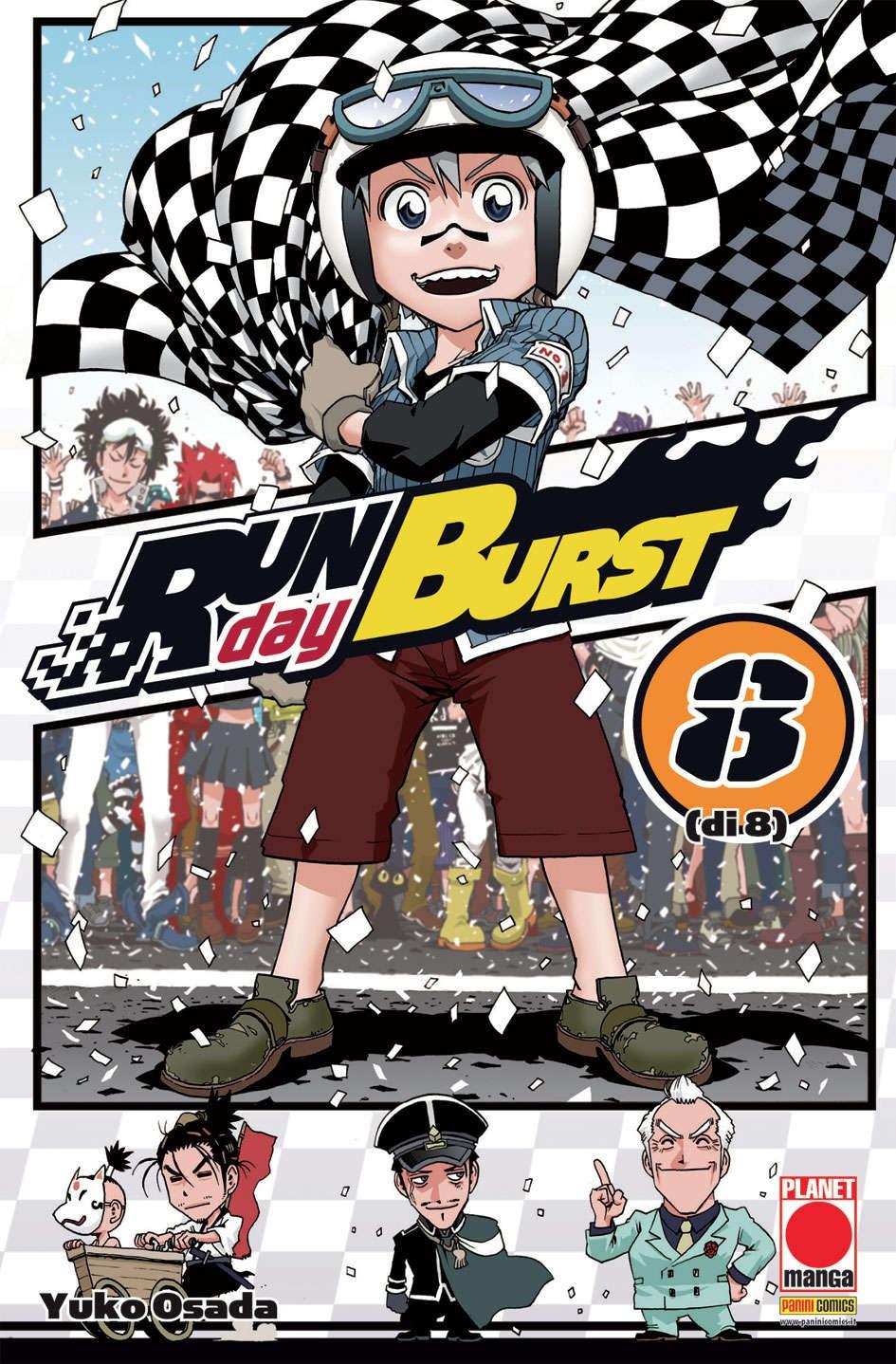 Run Day Burst - N° 8 - Run Day Burst - Planet Manga