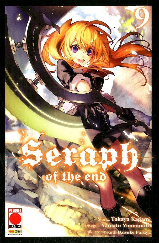 Seraph Of The End - N° 9 - Seraph Of The End - Arashi Planet Manga
