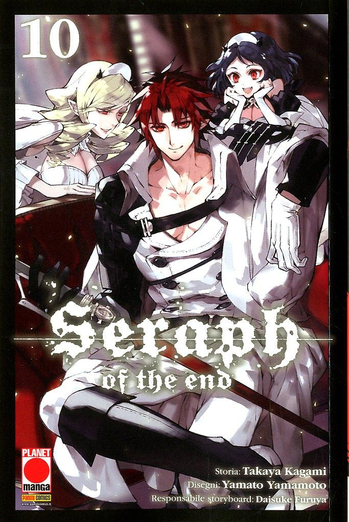 Seraph Of The End - N° 10 - Seraph Of The End - Arashi Planet Manga