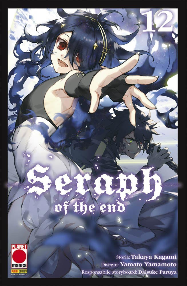 Seraph Of The End - N° 12 - Seraph Of The End - Arashi Planet Manga