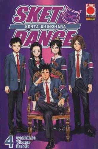 Sket Dance - N° 4 - Sket Dance (M32) - Planet Manga