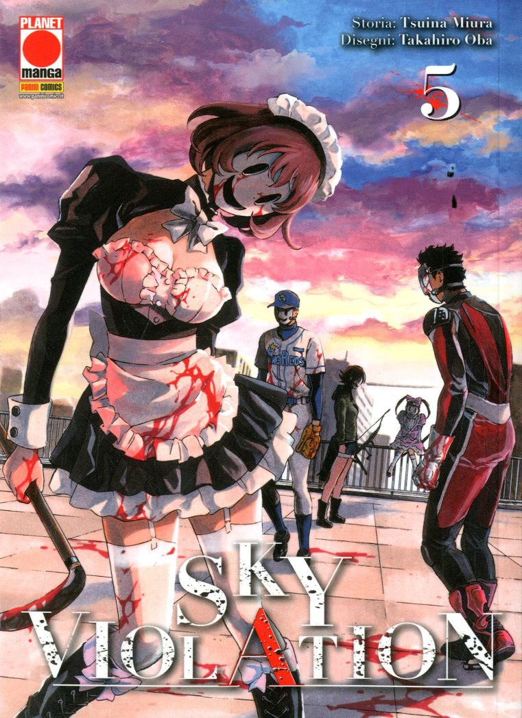 Sky Violation - N° 5 - Sky Violation - Manga Drive Planet Manga