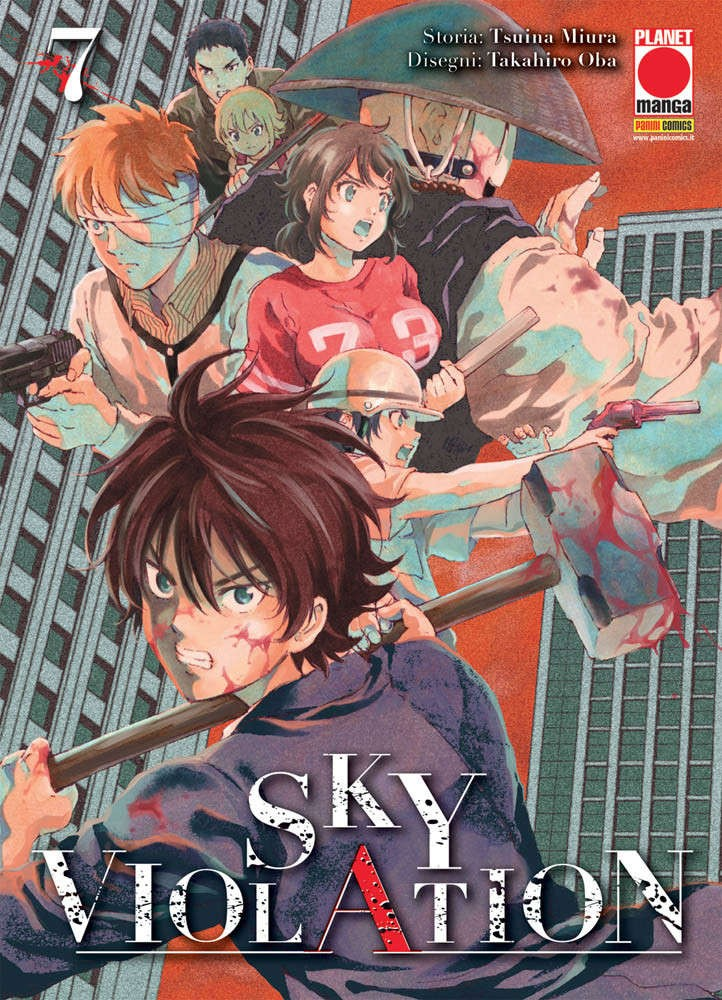 Sky Violation - N° 7 - Sky Violation - Manga Drive Planet Manga