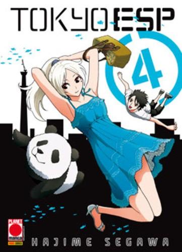 Tokyo Esp - N° 4 - Tokyo Esp (M15) - Manga Universe Planet Manga