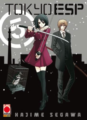 Tokyo Esp - N° 5 - Tokyo Esp (M15) - Manga Universe Planet Manga