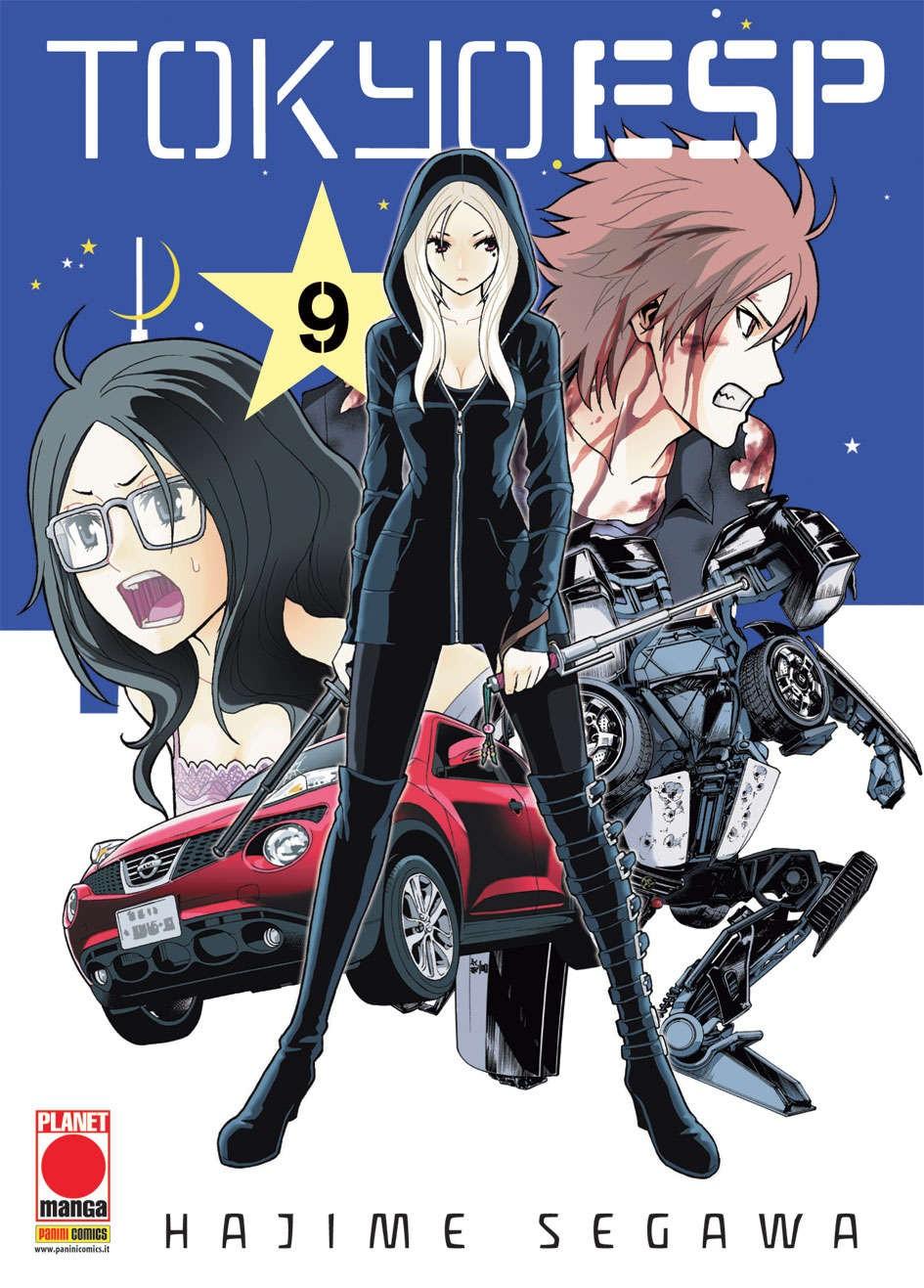 Tokyo Esp - N° 9 - Tokyo Esp (M15) - Manga Universe Planet Manga