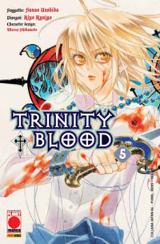 Trinity Blood - N° 5 - Trinity Blood - Collana Japan Planet Manga