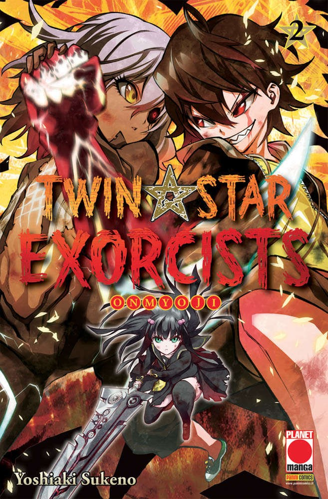 Twin Star Exorcists - N° 2 - Twin Star Exorcists - Manga Rock Planet Manga