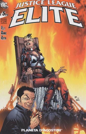 Justice League Elite (M6) - N° 5 - Justice League Elite (M6) - Planeta-De Agostini