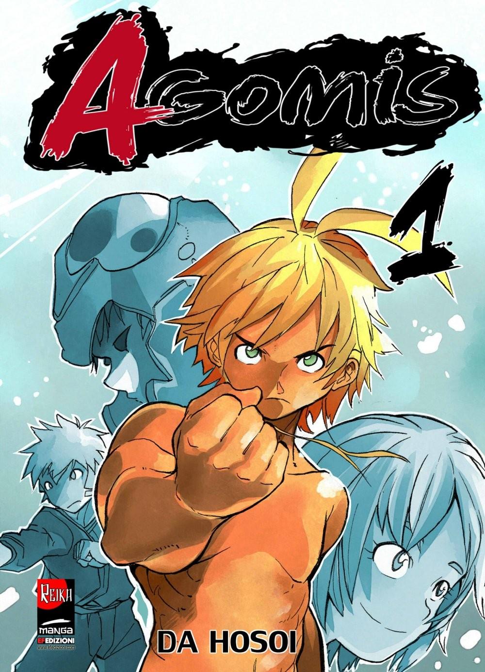 Agomis (Ediz. Edicola) - N° 1 - Agomis (Ediz. Edicola) - Reika Manga Reika Manga