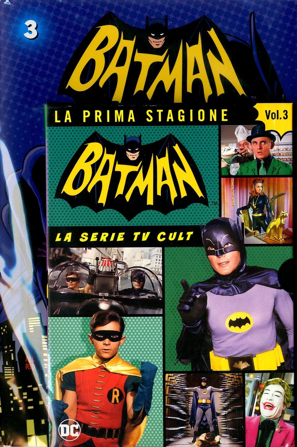 Batman '66 (Dvd + Fumetto) - N° 3 - Batman '66 - Rw Lion