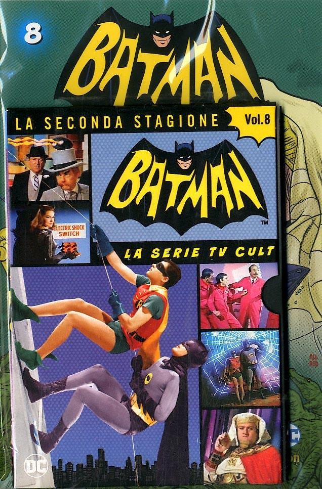 Batman '66 (Dvd + Fumetto) - N° 8 - Batman '66 - Rw Lion