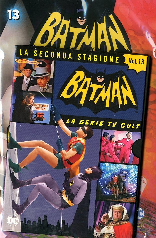 Batman '66 (Dvd + Fumetto) - N° 13 - Batman '66 - Rw Lion