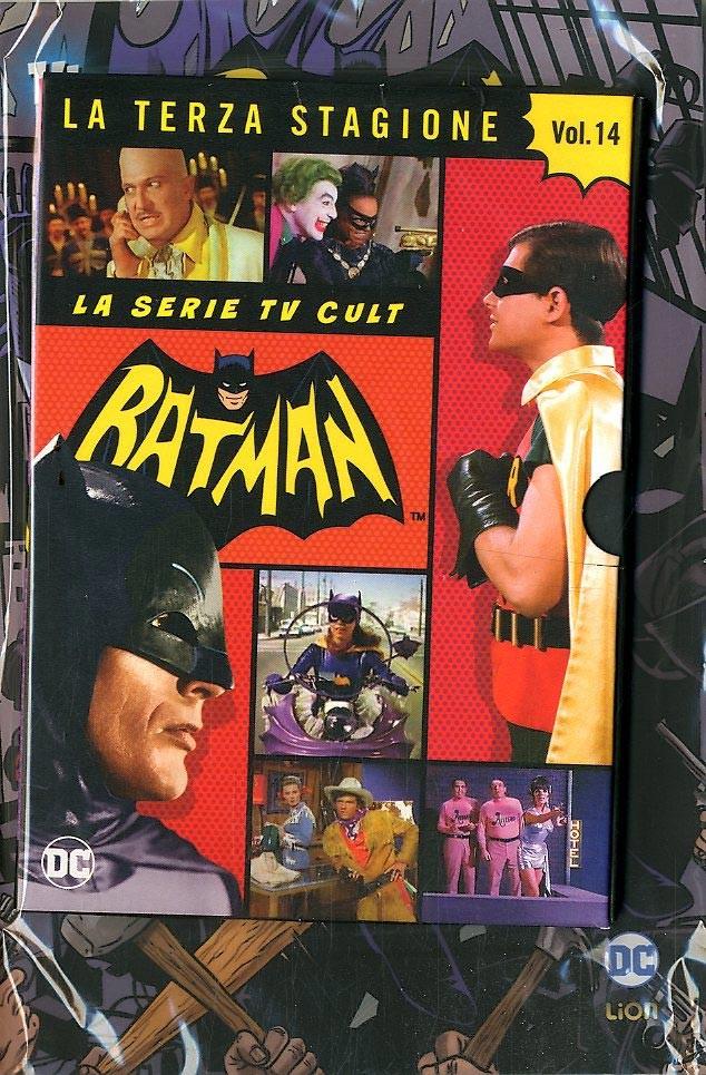 Batman '66 (Dvd + Fumetto) - N° 14 - Batman '66 - Rw Lion