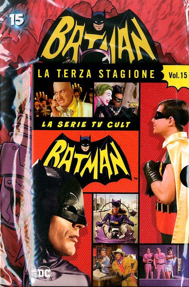 Batman '66 (Dvd + Fumetto) - N° 15 - Batman '66 - Rw Lion