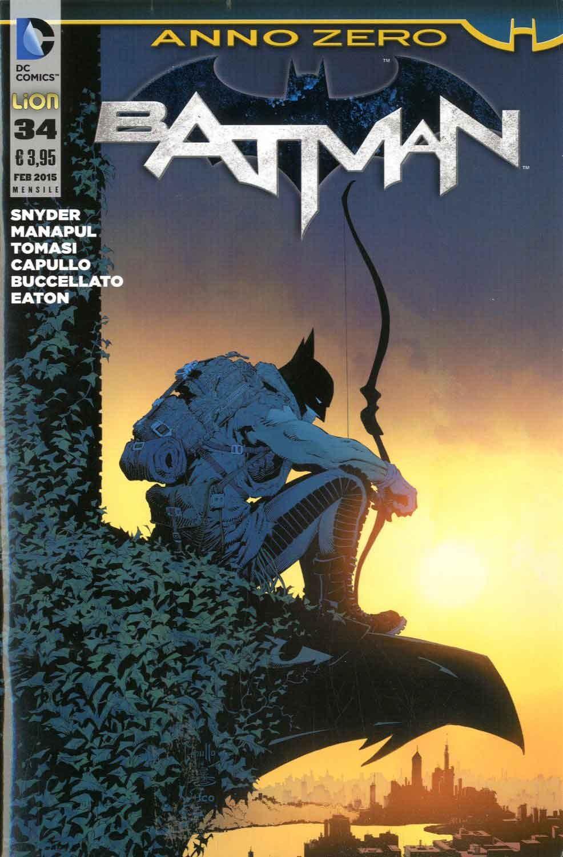 Batman 2012 - N° 34 - Batman - Batman Rw Lion