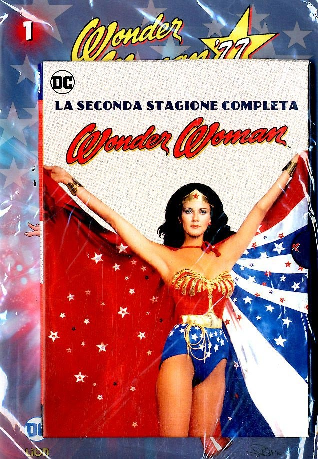 Wonder Woman '77 (Dvd+Fumetto) - N° 1 - Wonder Woman '77 - Rw Lion
