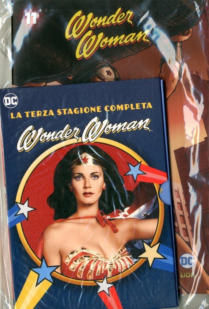 Wonder Woman '77 (Dvd+Fumetto) - N° 11 - Wonder Woman '77 - Rw Lion