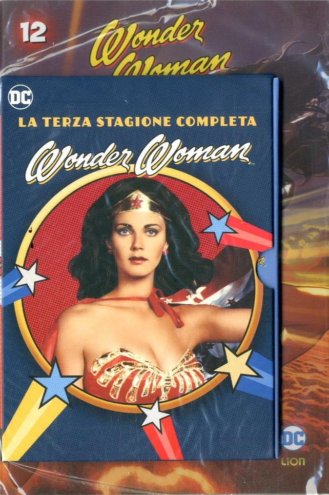 Wonder Woman '77 (Dvd+Fumetto) - N° 12 - Wonder Woman '77 - Rw Lion