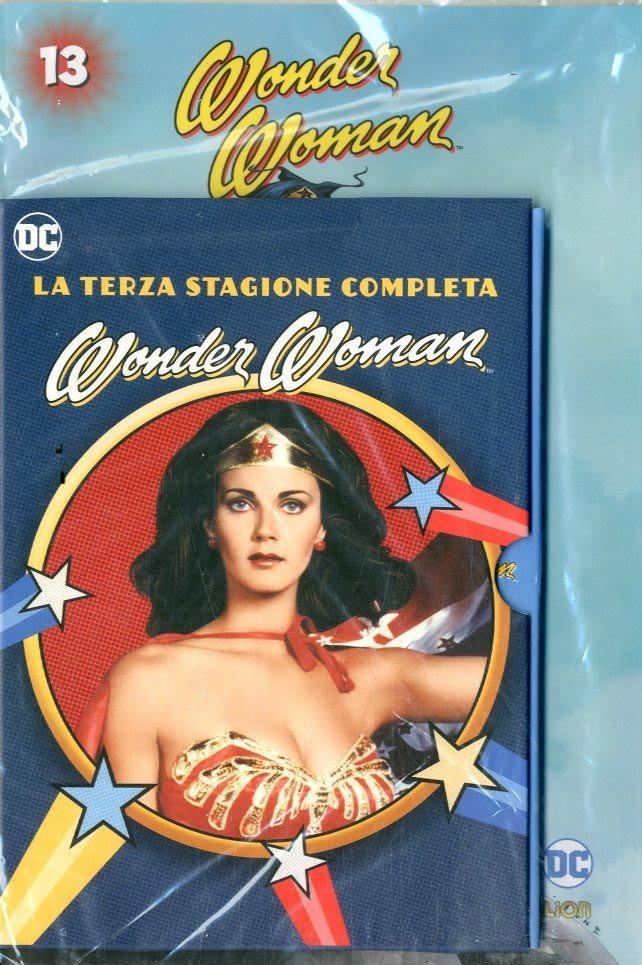 Wonder Woman '77 (Dvd+Fumetto) - N° 13 - Wonder Woman '77 - Rw Lion