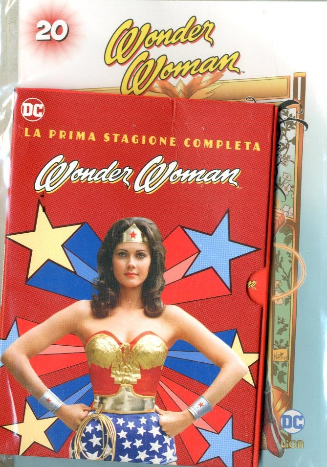 Wonder Woman '77 (Dvd+Fumetto) - N° 20 - Wonder Woman '77 - Rw Lion