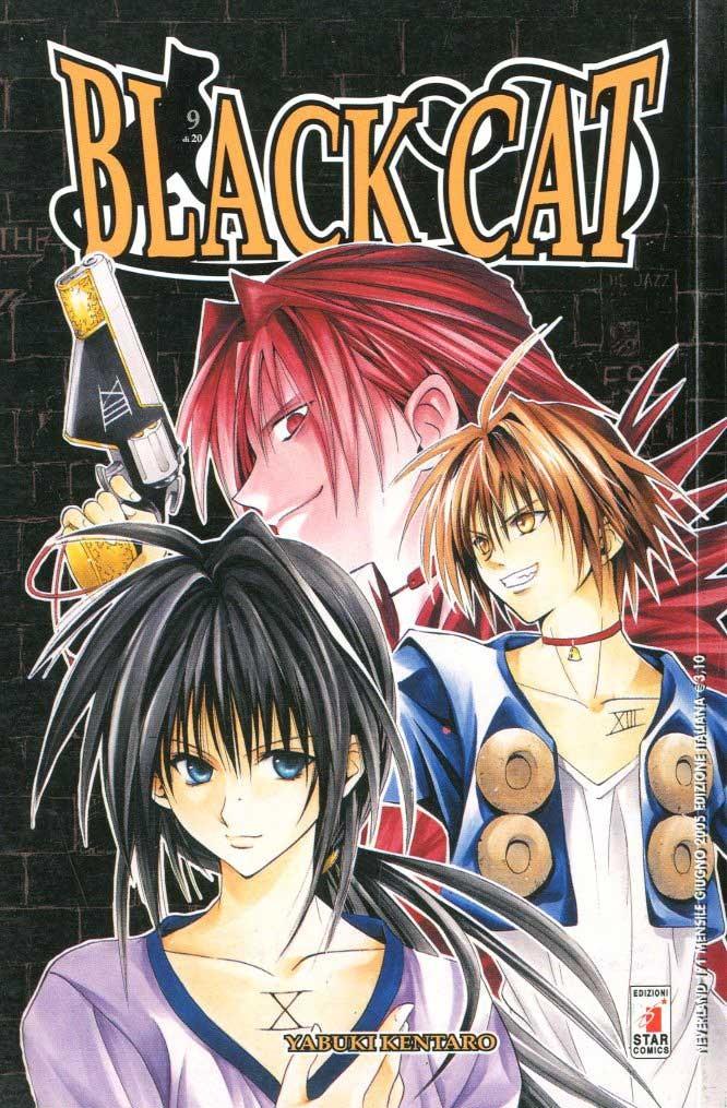 Black Cat - N° 9 - Black Cat (M20) - Neverland Star Comics