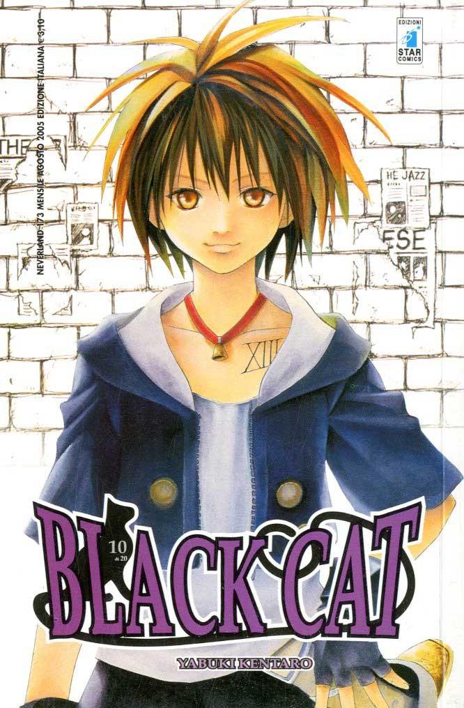 Black Cat - N° 10 - Black Cat (M20) - Neverland Star Comics