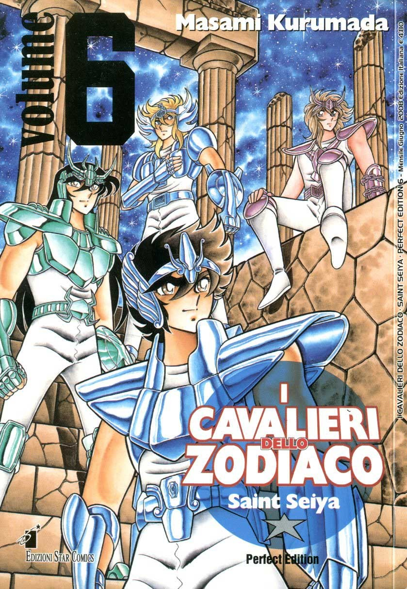 Cavalieri Zodiaco - N° 6 - Saint Seiya Perfect Edition (M22) - Star Comics