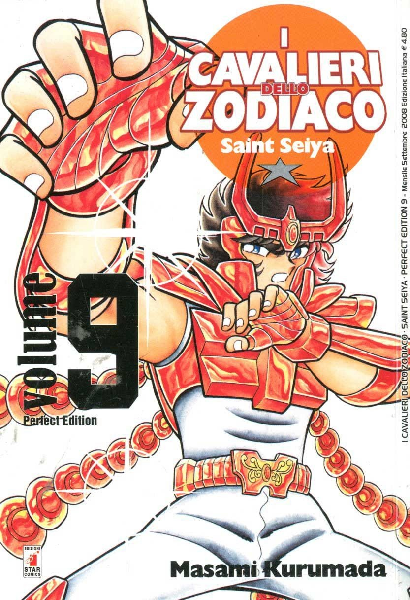 Cavalieri Zodiaco - N° 9 - Saint Seiya Perfect Edition (M22) - Star Comics