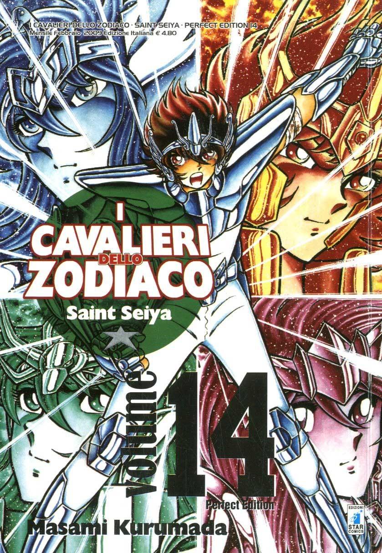 Cavalieri Zodiaco - N° 14 - Saint Seiya Perfect Edition (M22) - Star Comics