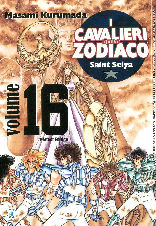 Cavalieri Zodiaco - N° 16 - Saint Seiya Perfect Edition (M22) - Star Comics