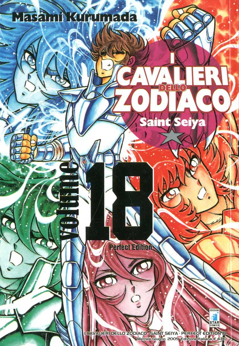 Cavalieri Zodiaco - N° 18 - Saint Seiya Perfect Edition (M22) - Star Comics
