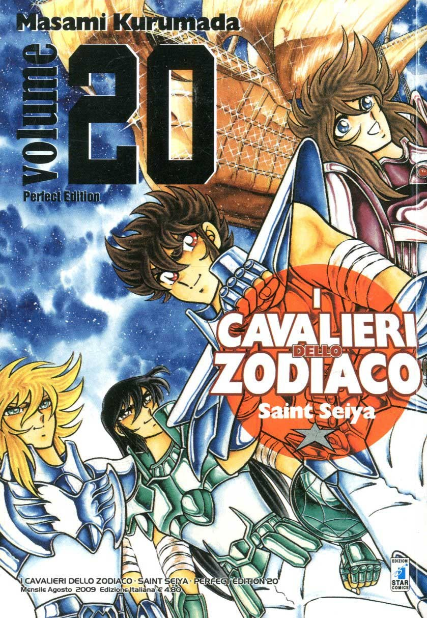 Cavalieri Zodiaco - N° 20 - Saint Seiya Perfect Edition (M22) - Star Comics