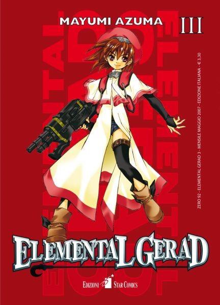 Elemental Gerad - N° 3 - Elemental Gerad (M18) - Zero Star Comics