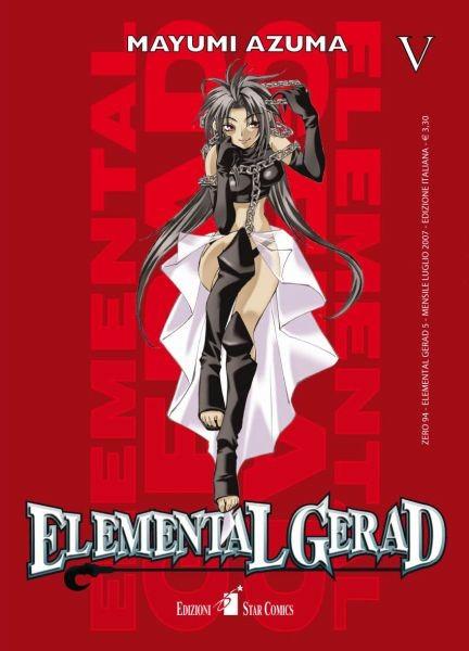 Elemental Gerad - N° 5 - Elemental Gerad (M18) - Zero Star Comics