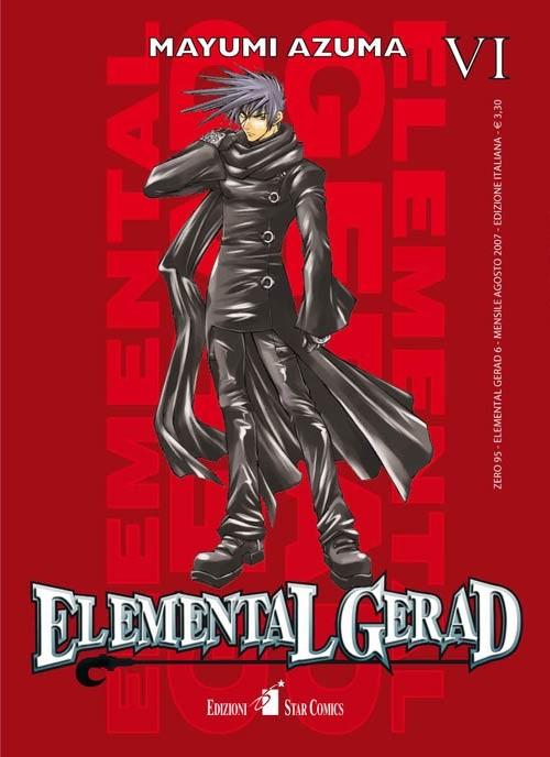Elemental Gerad - N° 6 - Elemental Gerad (M18) - Zero Star Comics