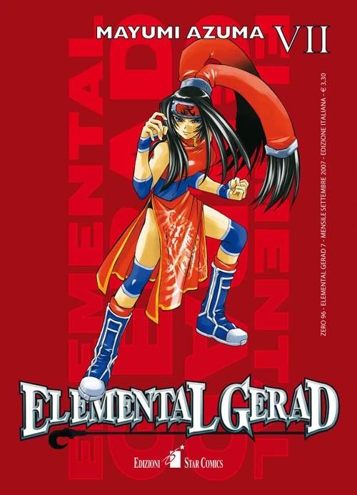 Elemental Gerad - N° 7 - Elemental Gerad (M18) - Zero Star Comics