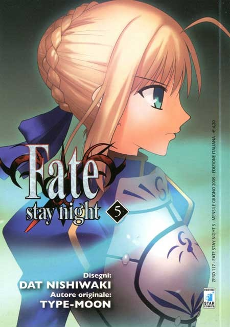 Fate Stay Night - N° 5 - Fate Stay Night - Zero Star Comics