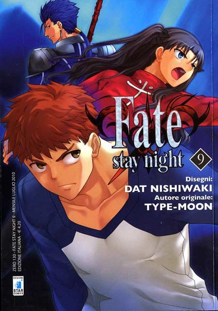 Fate Stay Night - N° 9 - Fate Stay Night - Zero Star Comics