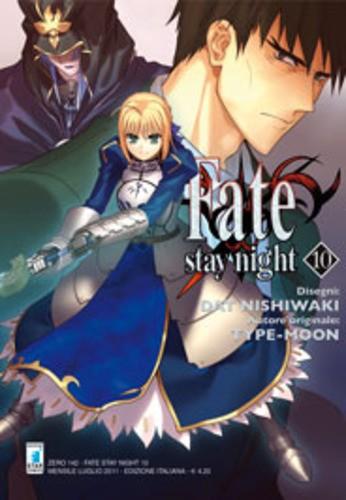 Fate Stay Night - N° 10 - Fate Stay Night - Zero Star Comics