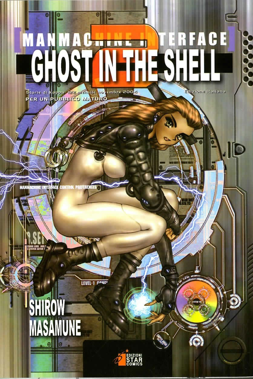 Ghost In The Shell - N° 2 - Ghost In The Shell 2 - Manmachine Interface - Storie Di Kappa Star Comics