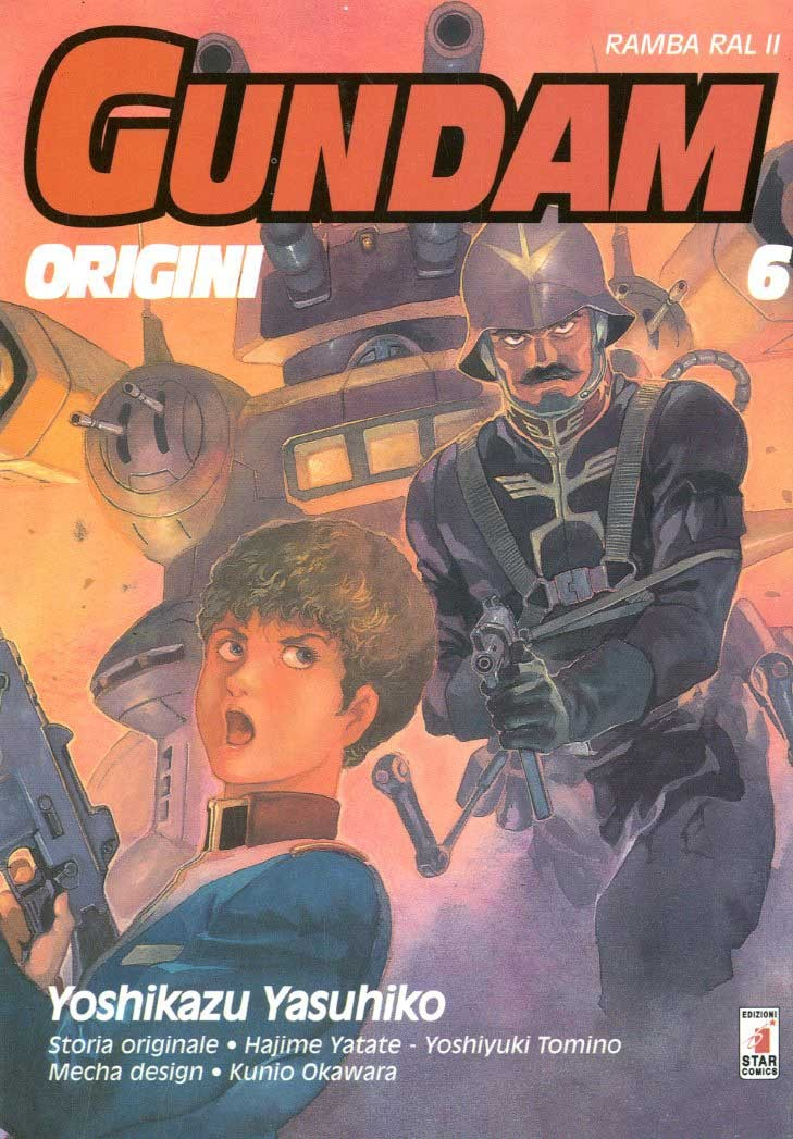 Gundam Origini - N° 6 - Le Origini 6 - Gundam Universe Star Comics