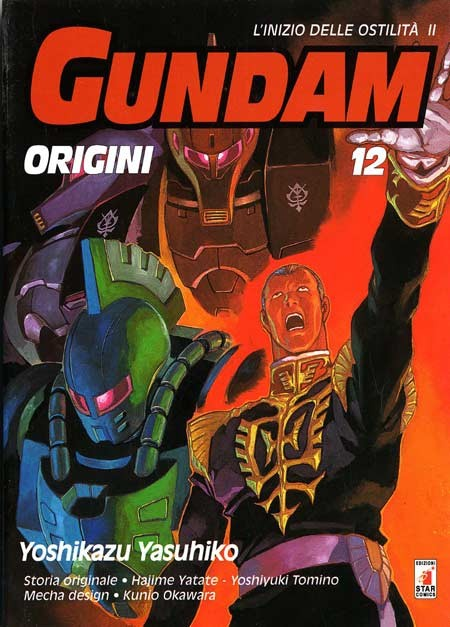 Gundam Origini - N° 12 - Gundam Origini - Gundam Universe Star Comics